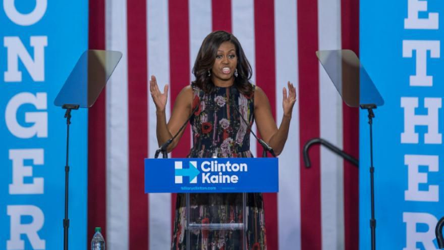 Hillary Clinton «inspire» Michelle Obama
