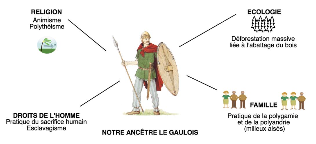 INFOGRAPHIE. Tout ce que vous ne saviez pas sur «nos ancêtres les Gaulois»