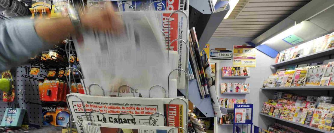 Les ventes de la presse papier encore en baisse