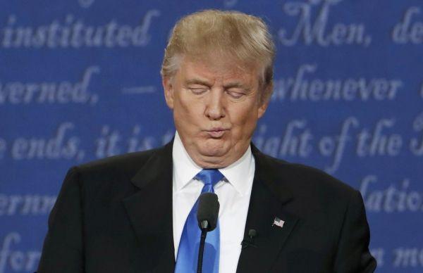 Les cinq mensonges de Trump lors du débat TV