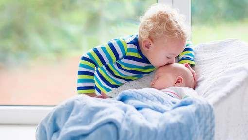 1, 2, 3 ans: quel est l'écart idéal entre deux enfants?