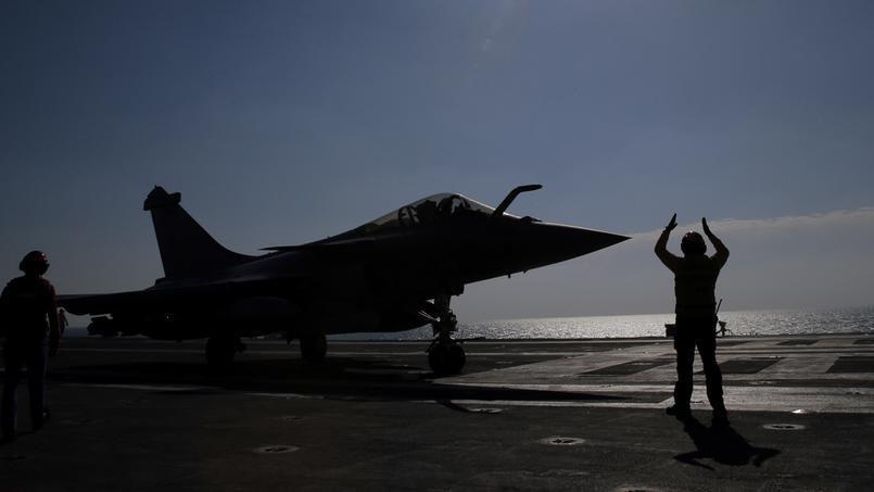Les Rafale du Charles de Gaulle entrent en action contre le groupe État islamique