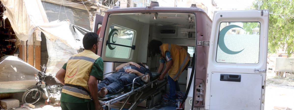 Frappes contre des hôpitaux en Syrie : Les médecins ne sont ni des terroristes, ni des combattants