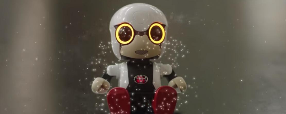 Toyota lance Kirobo Mini, un robot de compagnie miniature