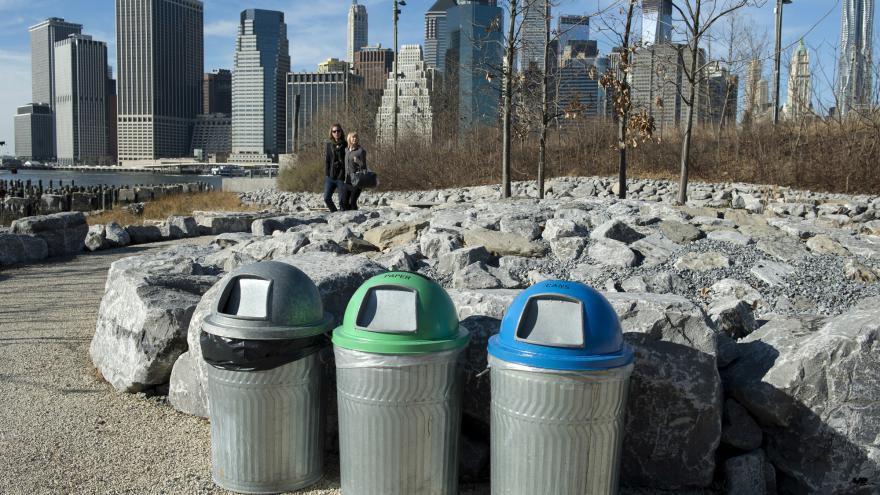 Un cœur découvert dans une poubelle à New York
