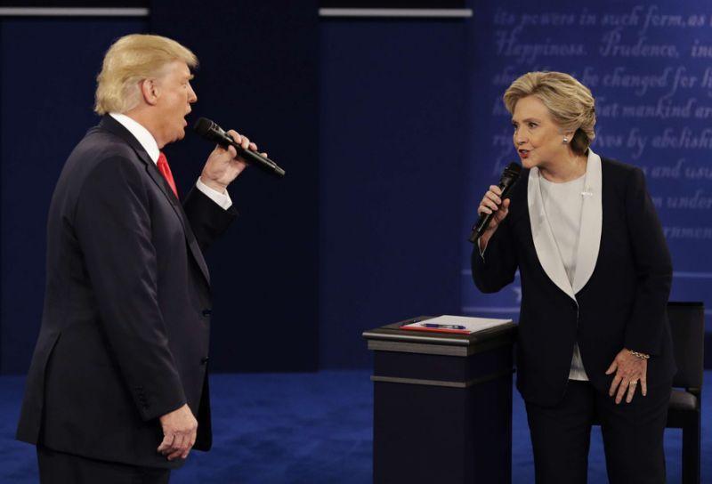 VIDEO. Duo et chanson d'amour pour Trump et Clinton