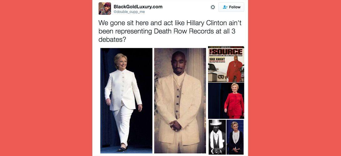 Hillary Clinton admet que son style vestimentaire est influencé par Tupac et Snoop Dogg