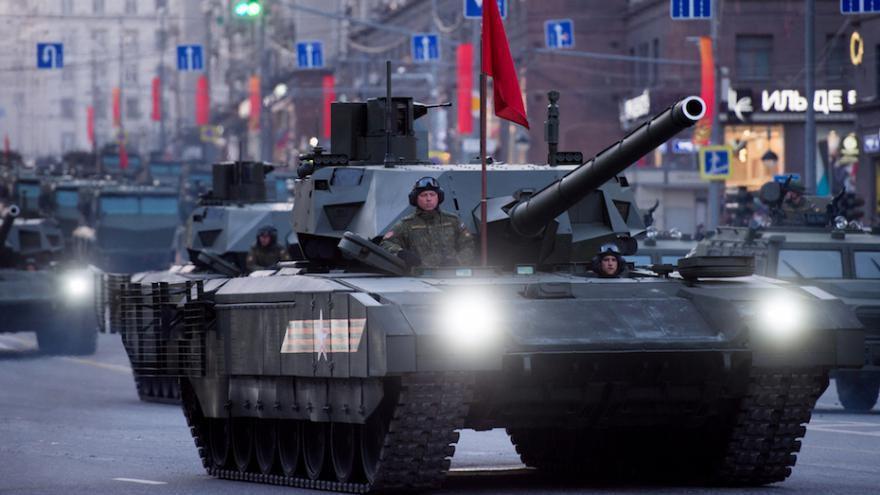 Le nouveau char russe T14 est le char le plus puissant du monde
