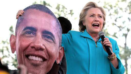 Barack Obama vole au secours de Clinton