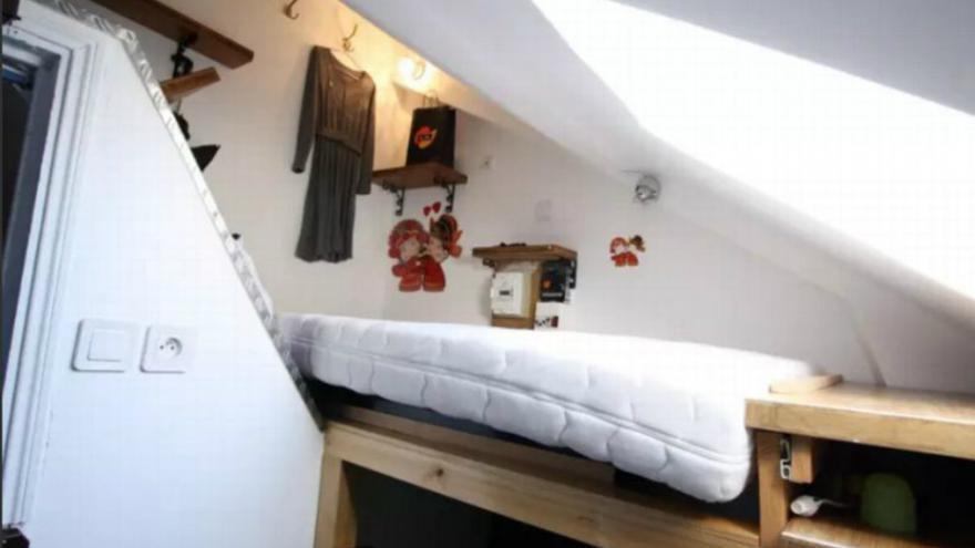 Un «logement» de 1,4m2 en vente pour 48.000 euros