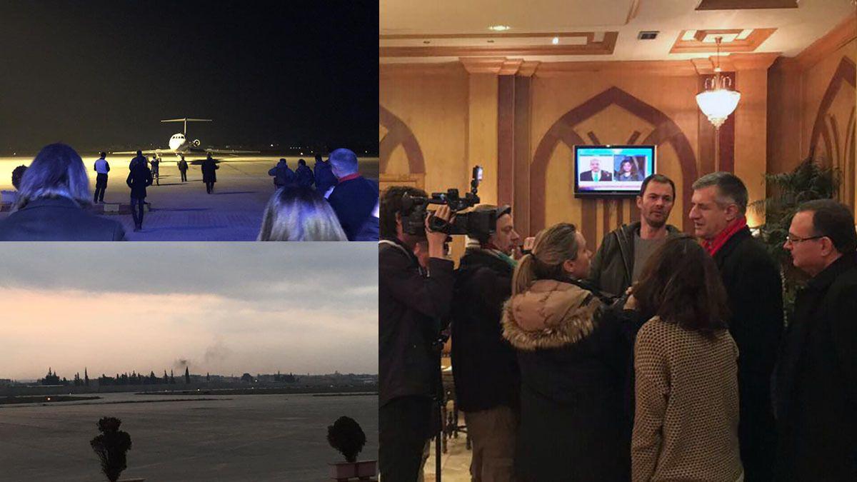 Alep: Les députés français en visite victimes d'une tentative d'attentat