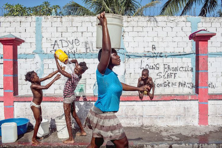 En Haïti, se relever encore