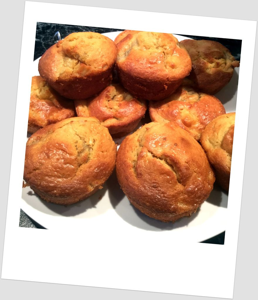 Muffins ultra moelleux pomme/banane