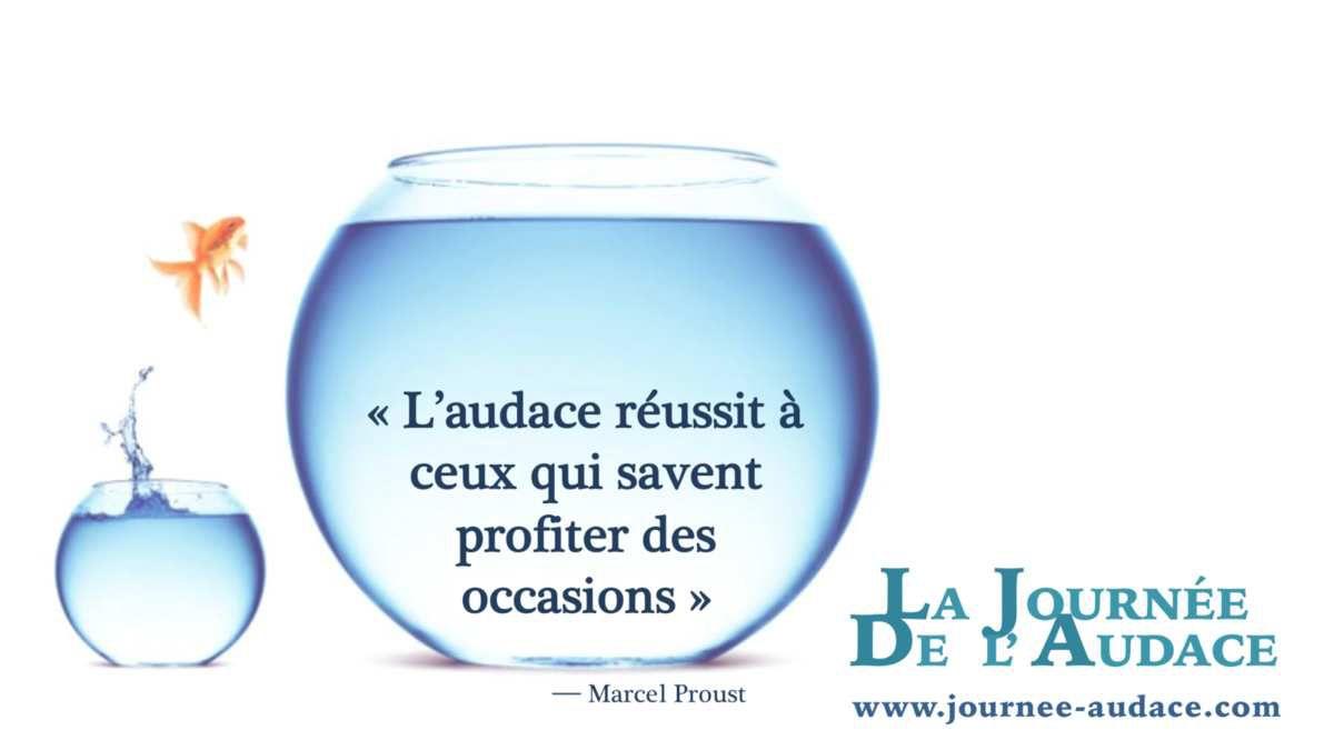 L'audace selon Marcel Proust
