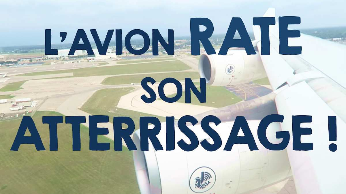L'avion a raté son atterrissage...(Vlog 12)