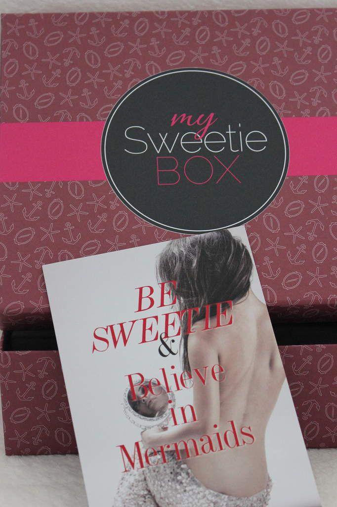 My sweetie box  - Novembre 2014 - Mirroir of beauty