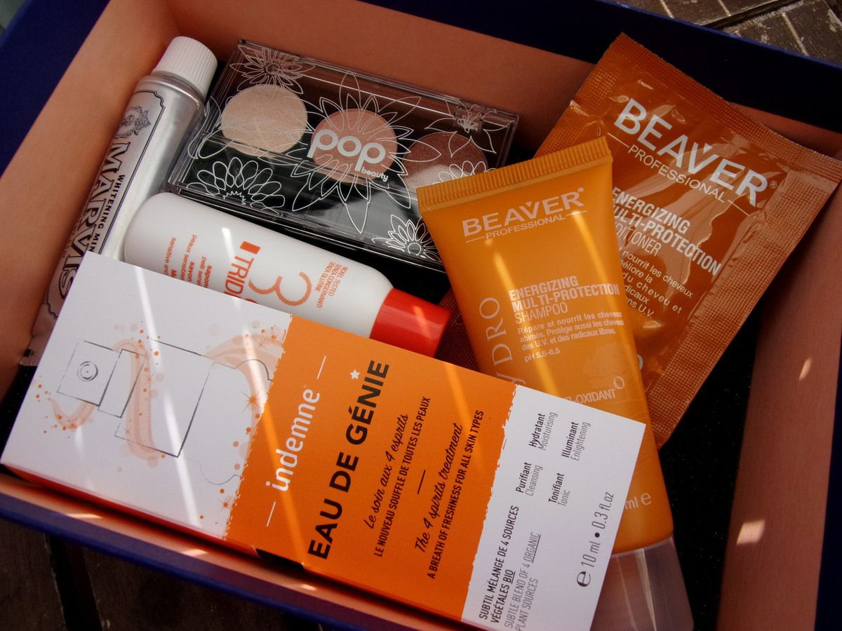 Birchbox Juillet 2015 - Sunset lovers