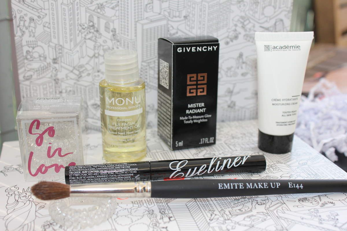 Glossybox Septembre 2015 - Rock in the City