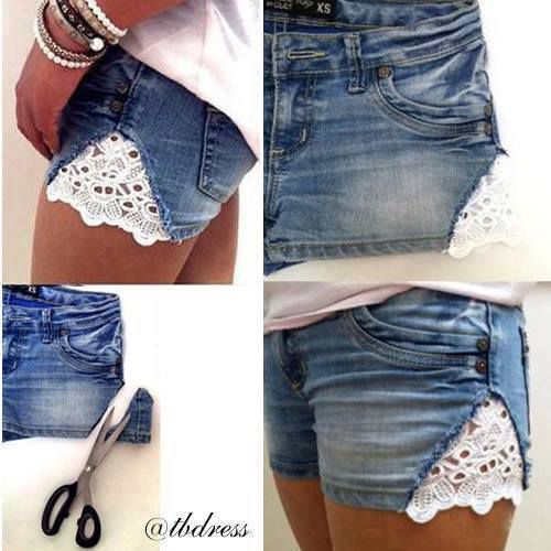 DIY: Customize ton short!