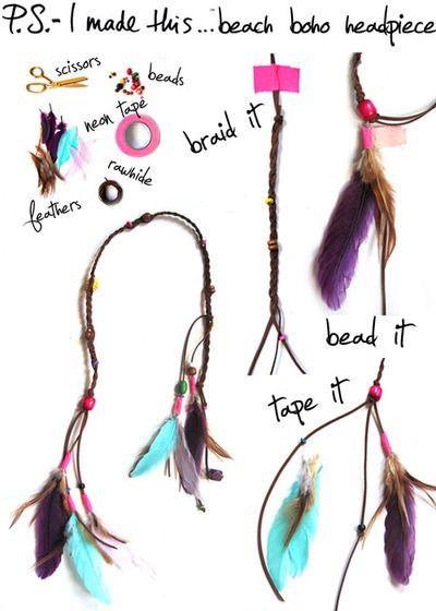 DIY: 7 accessoires pour cheveux à faire toi même