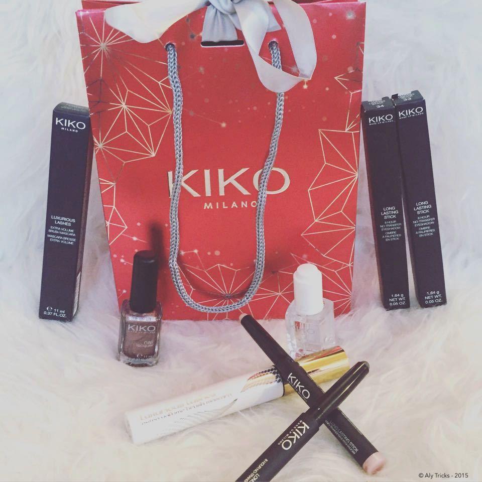 Revue ~ Mes nouveaux produits Kiko