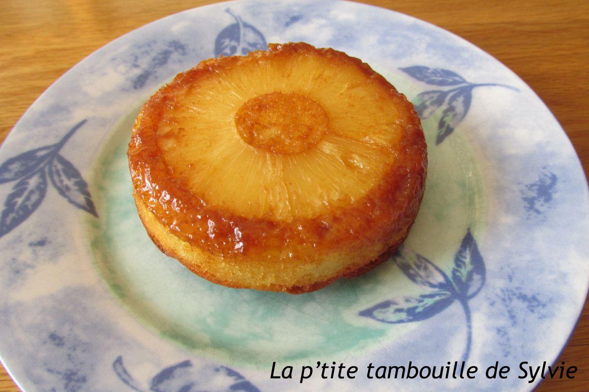 Gâteaux renversés ananas caramel au beurre salé