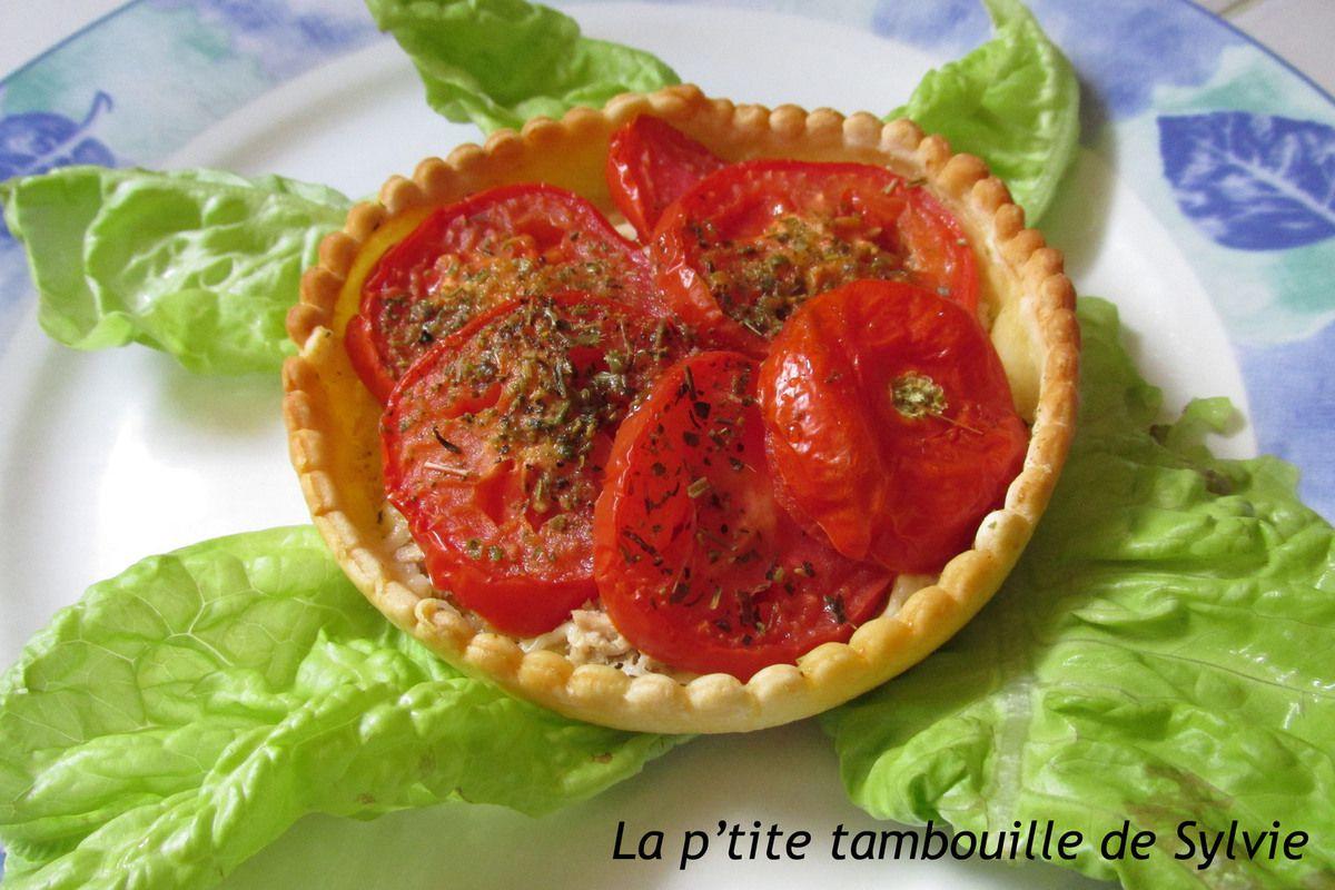 Tartelettes au thon et à la tomate