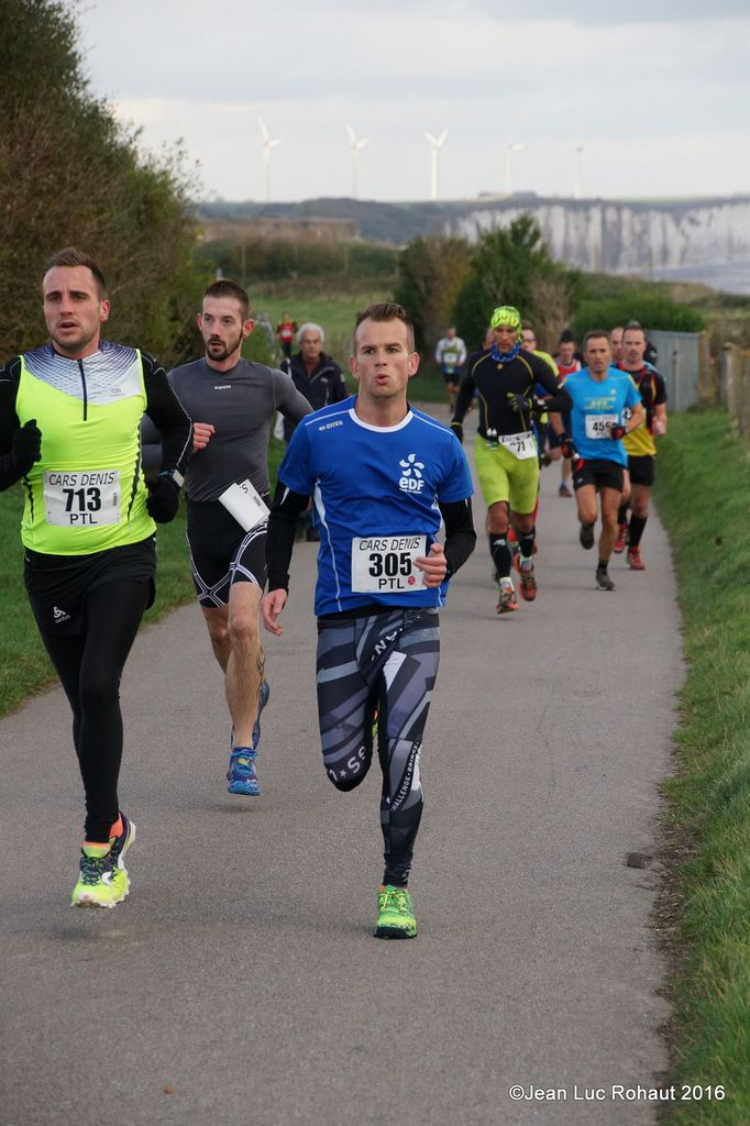 TRAIL DE LA COTE D'ALBATRE 2016 PHOTOS!!!!