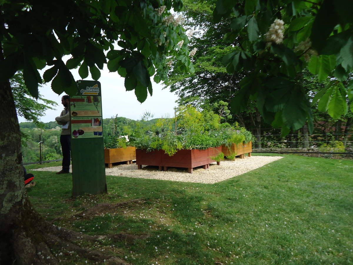 Voyage en dordogne le jardin de limeuil le blog de ecole sainte marie monsempron for Jardin a visiter