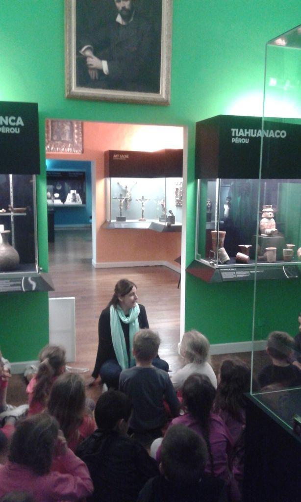 classe découverte : musée des Jacobins à Auch