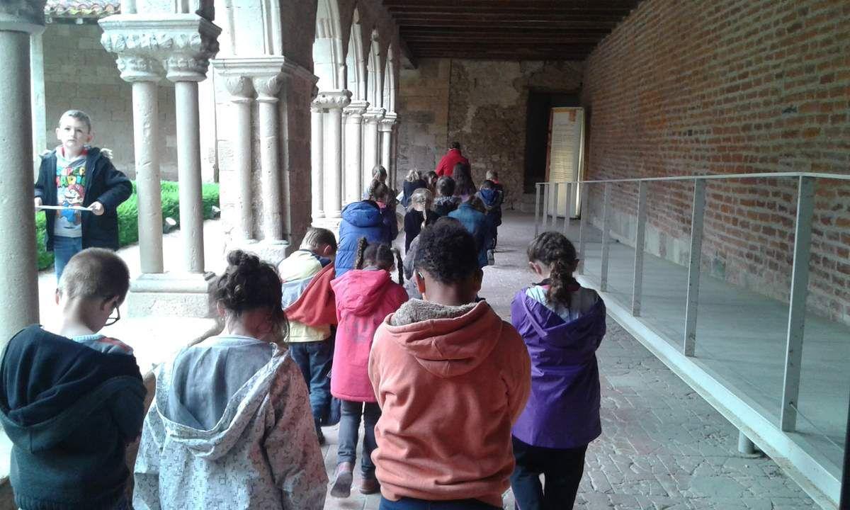 Classe découverte : l'Abbaye de Flaran