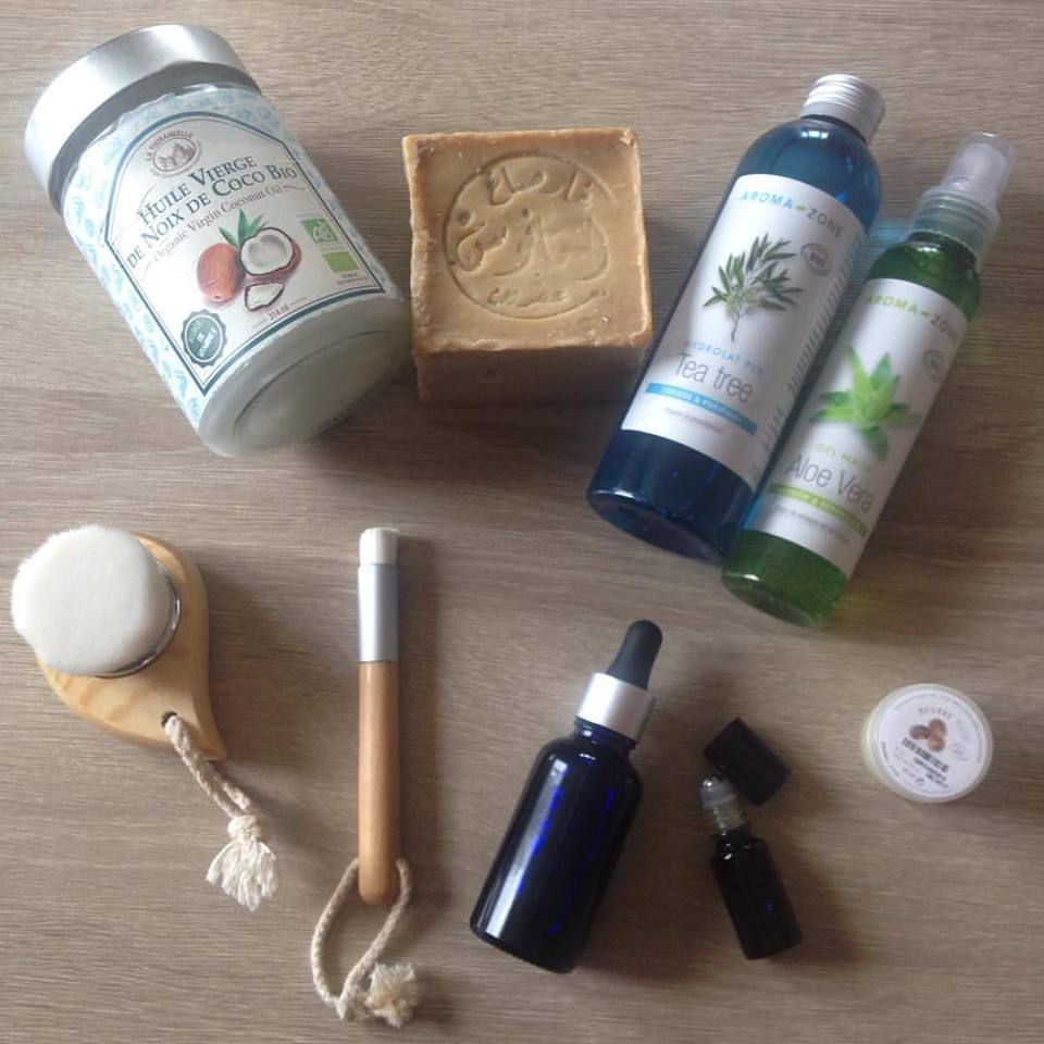 Ma routine soin naturelle - Layering