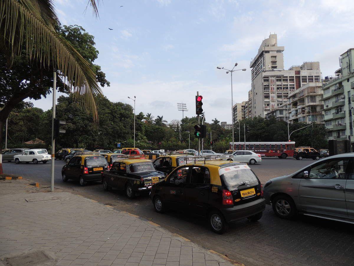 Circulation fluide à Colaba, dans le centre de Bombay