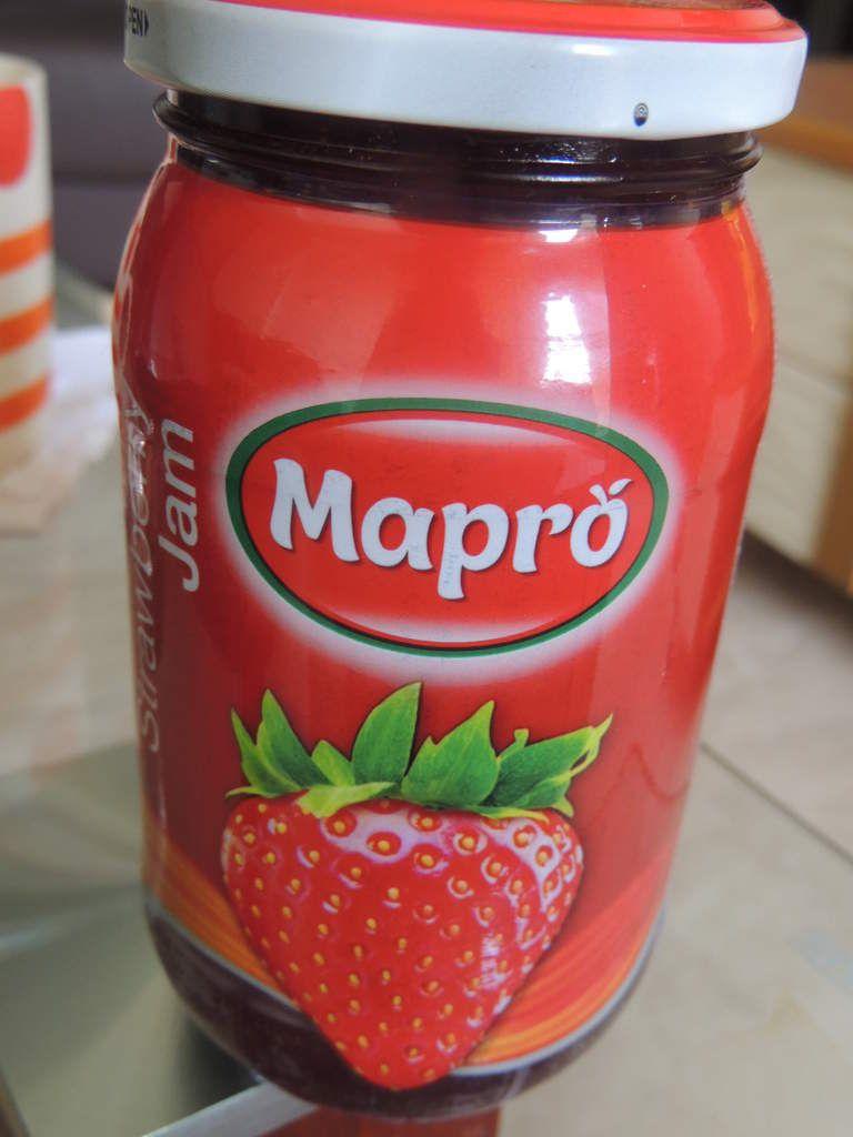 La célèbre confiture de fraises