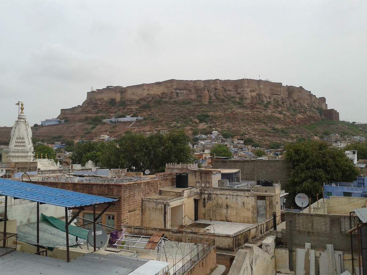 Le fort, surplombant Jodhpur