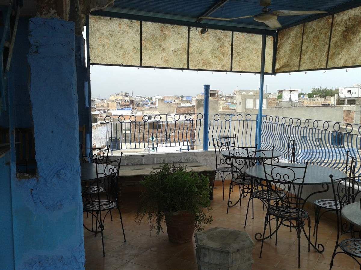 Terrasse du Blue House