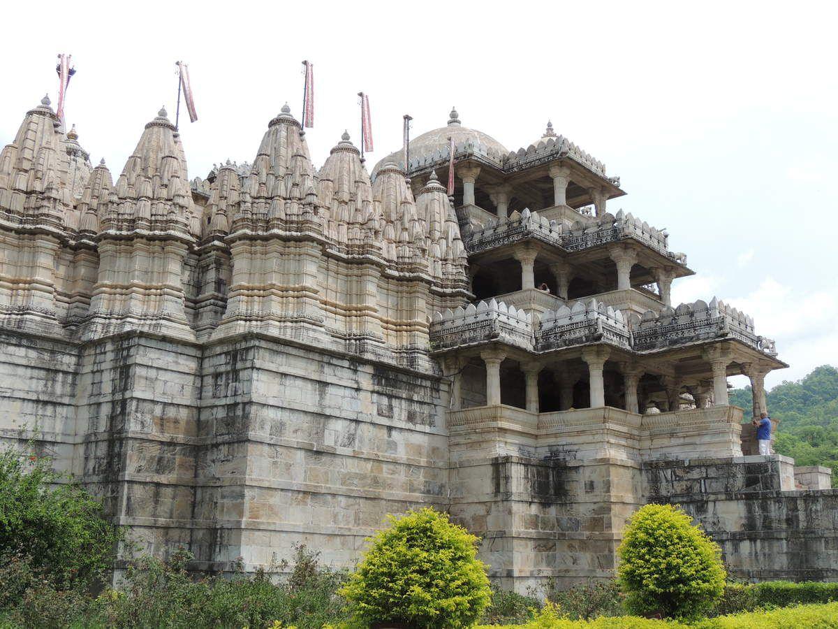 Le temple de Chaumukha à Ranakpur