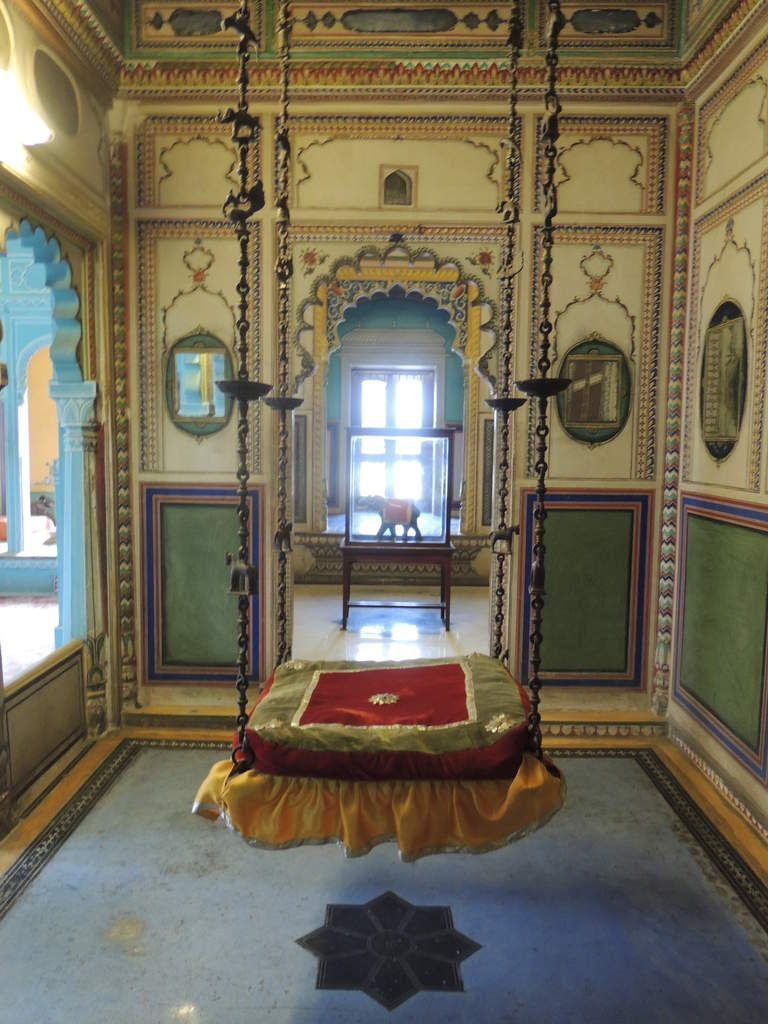 Balançoire City Palace Udaipur