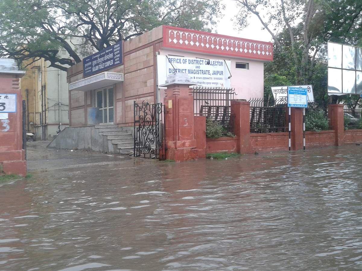 Inondations durant la mousson