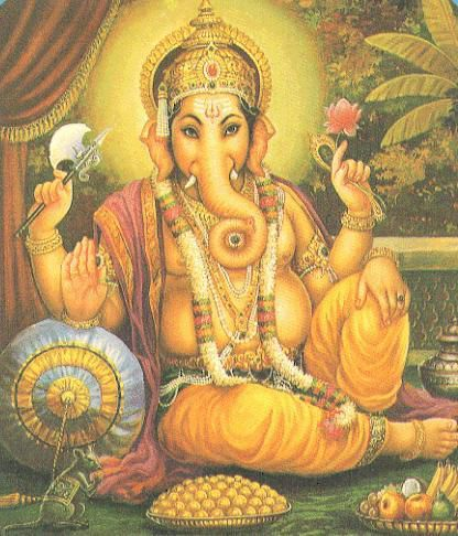 Ganesh. Source: mythologica.fr