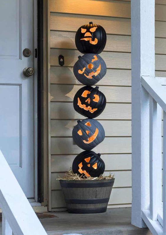 Halloween Comment Decorer Ma Porte D Entree Bric A Brac
