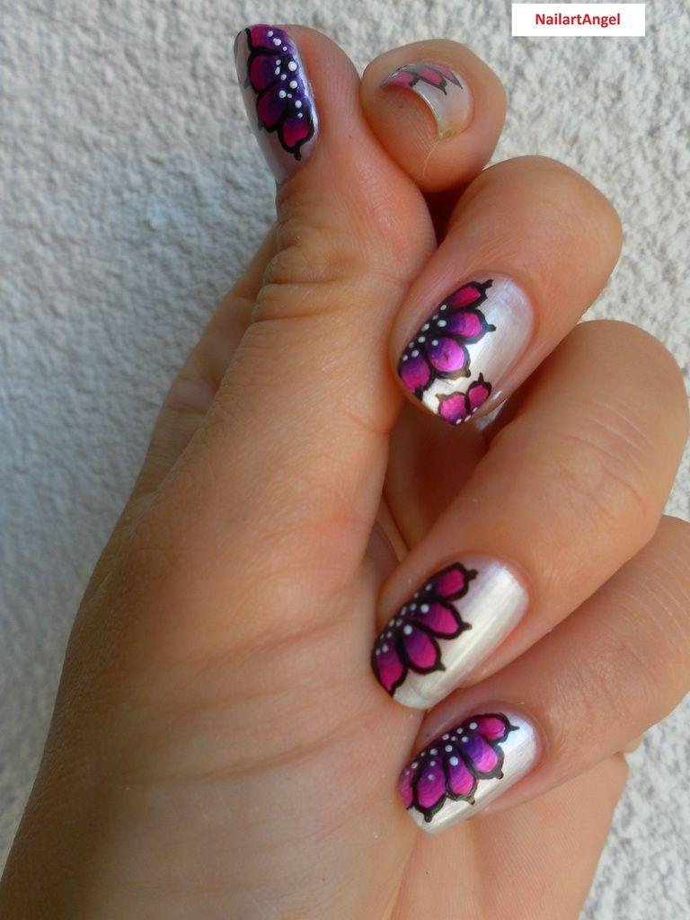 New nail art &#x3B;-) j'en suis fiere de celui la