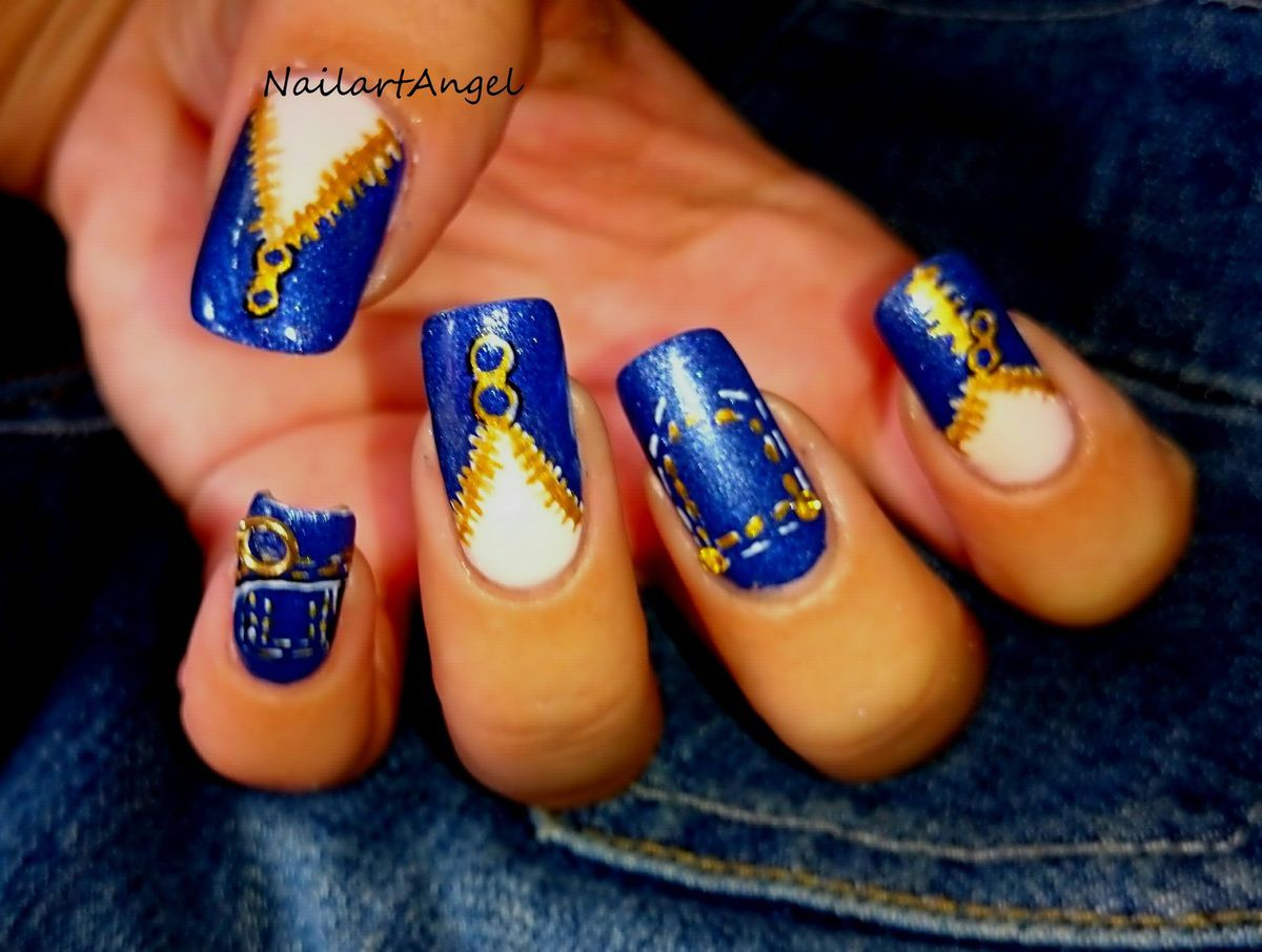 Nail art jeans, galerie