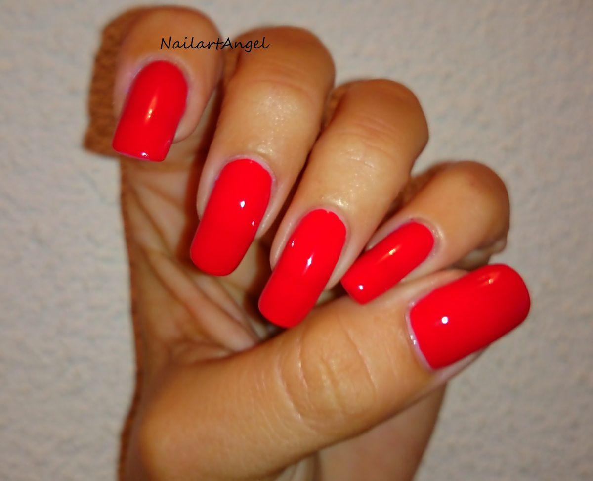 Bien connu vernis rouge, ambiance pop, galerie vernis - NailartAngel VV99