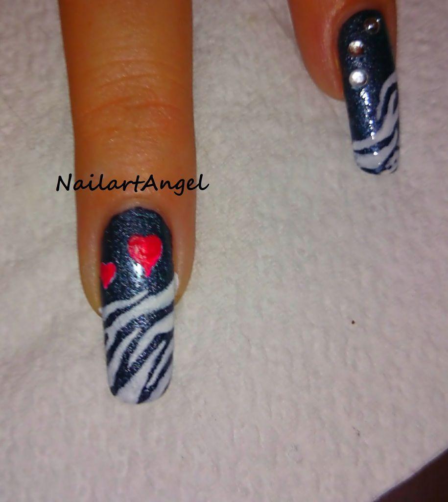 rien de plus simple, nail art rock and glam