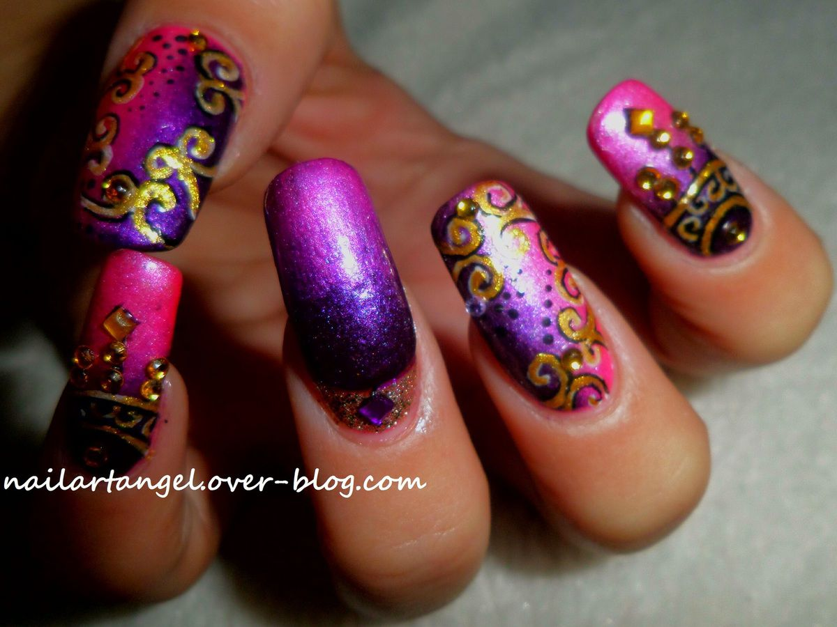 nail art bollywood