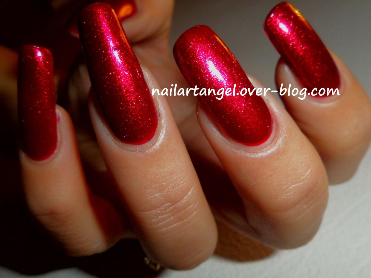 #swatch vernis Kiko, manucure glamour