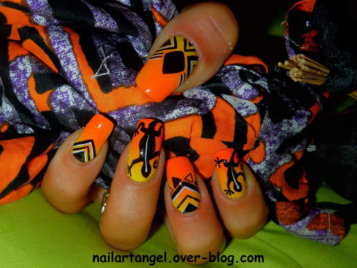 nail art, nail art Afrique, nail art Cameroun, nail art tribal, nailartangel, tutoriel pas à pas, nail art pas à pas, #nailart, #nailartangel
