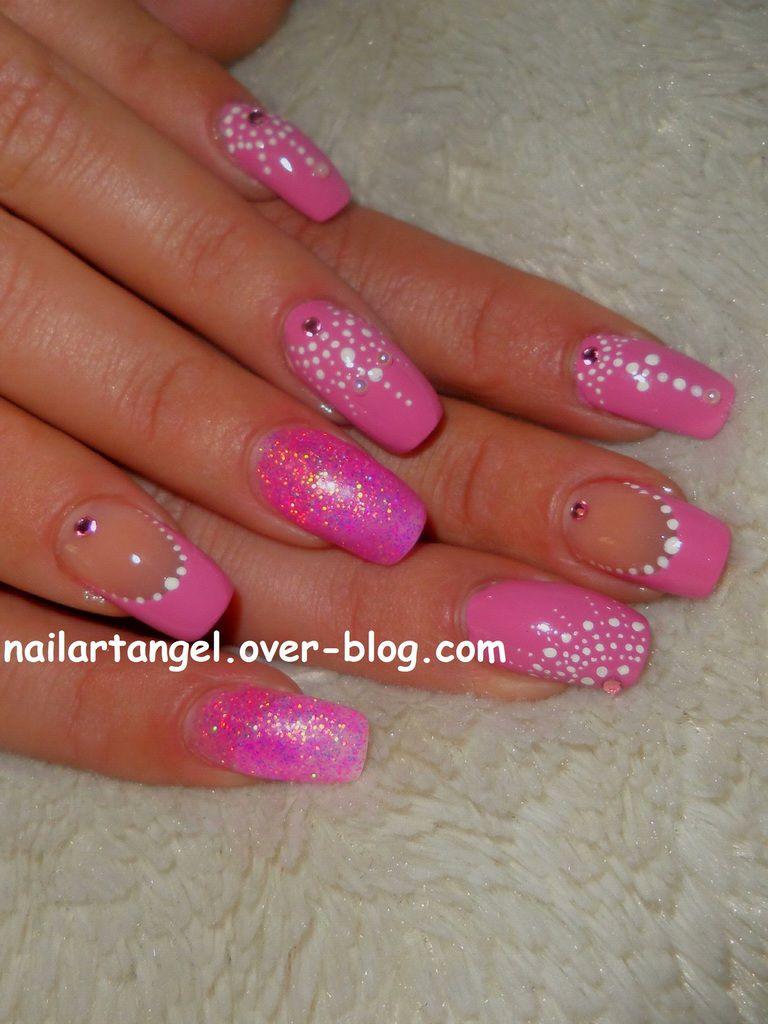 Nail art girly, nail art step by step, nail art girly, nail art baby doll, nailartangel, nail art facile, nail art pas à pas, nail art tutoriel vidéo