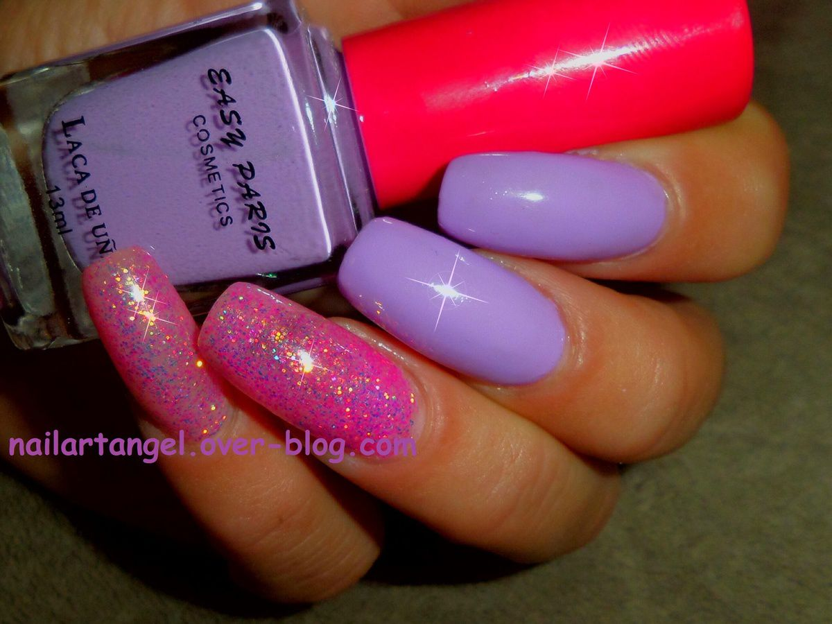 gel pailleté, nailartangel, nails, nail art, manucure, vernis easy paris cosmetics